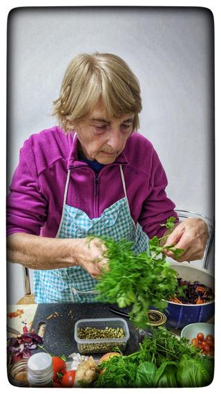 הסבתא הצרפתייה המקסימה בסדנת יומולדת משפ