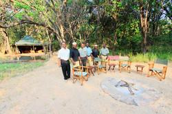 Makambe camp fire