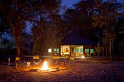 Chunya Camp fire place 2016
