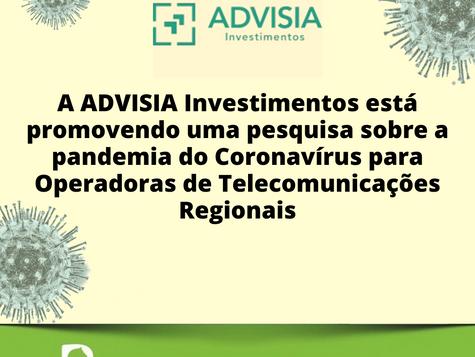 Reação das Operadoras de Telecomunicações Regionais à pandemia do Coronavírus
