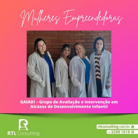 Mulheres Empreendedoras - GAIADI