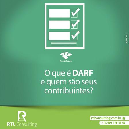 O que é DARF e quem são seus contribuintes?