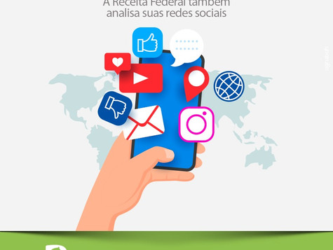 Você sabia que a Receita Federal também analisa suas redes sociais?