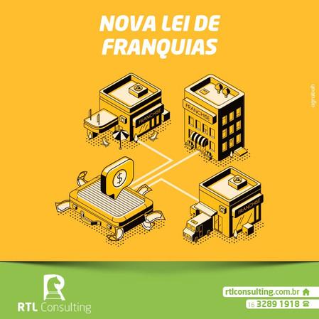 Saiba mais sobre: Nova Lei de Franquias