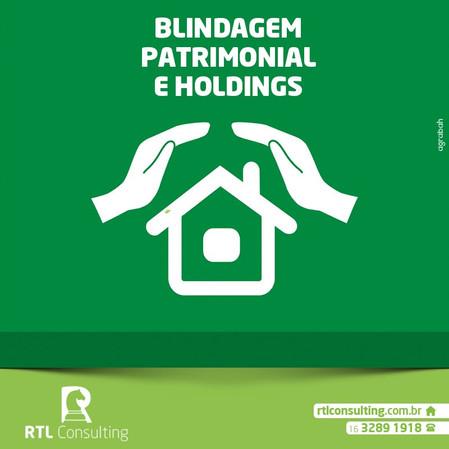 Blindagem Patrimonial e Holdings. Saiba mais sobre: