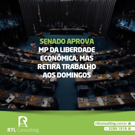 Importante: aprovação da MP da liberdade econômica