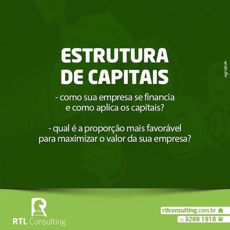Conte com a nossa assessoria para estrutura de capitais