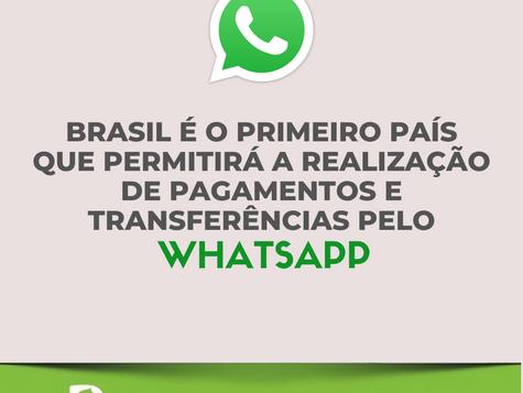 Whatsapp permitirá a realização de pagamentos e transferências, confira: