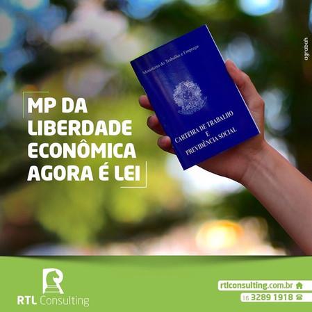 A MP da Liberdade econômica foi aprovada!