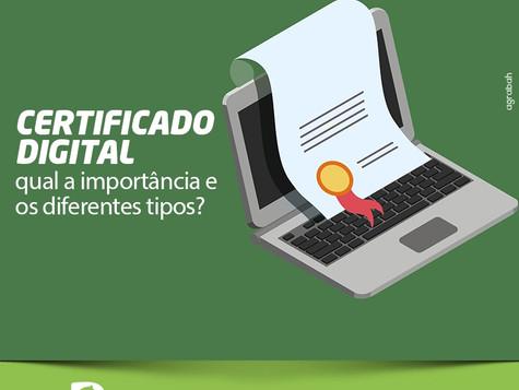 Saiba mais sobre Certificado Digital: qual sua importância e os diferentes tipos?