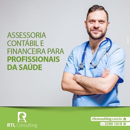 Assessoria Contábil e Financeira para profissionais da saúde