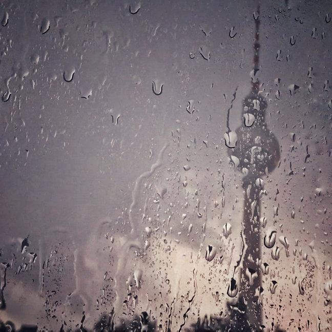 Berlin, Fernsehturm, Regentropfen, Lars Hauck