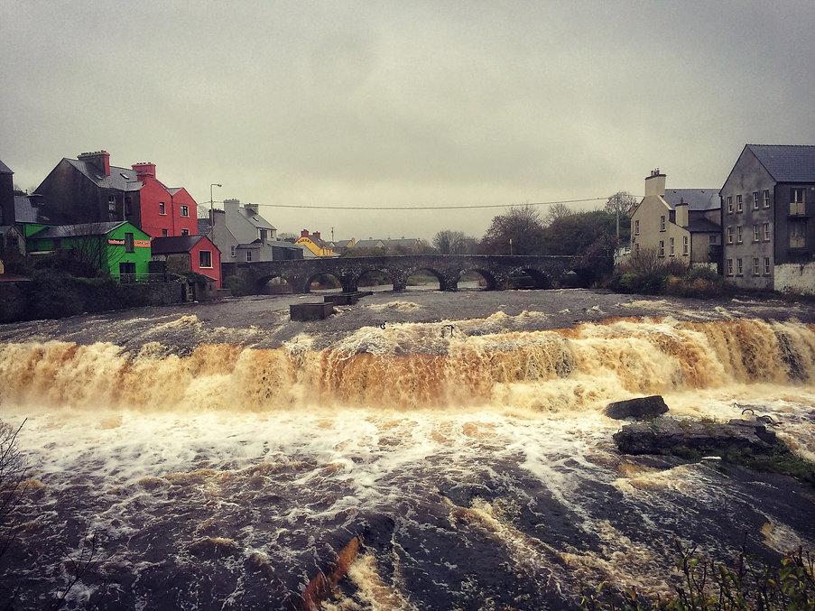Ennistymon County Clare Ireland Irland Watefall