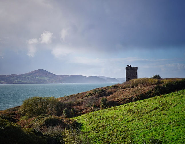Lord Bandon's Tower, Sheeps Head Way, Wandern, County Cork, Irland, Lars Hauck