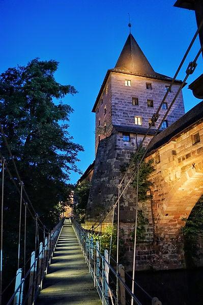 Nürnberg, Kettensteg, Altstadt, Lars Hauck