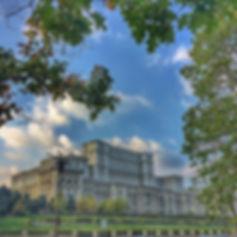 Bukarest Palatul Parlamentspalast Palace of Parliament