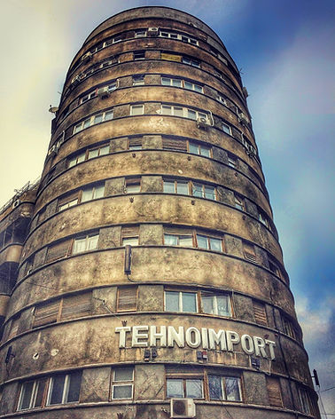 Bucharest Tehnoimport Building Bukarest