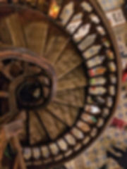 caru cu bere Treppenhaus Bukarest Bucharest staircase romania