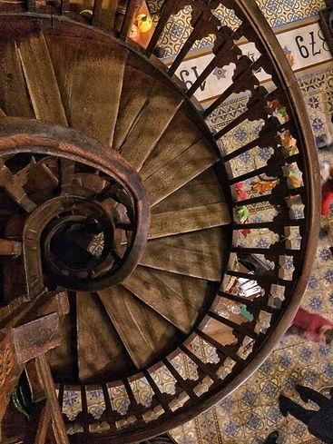 Caru' Cu Bere, Treppenhaus Bukarest Bucharest staircase romania