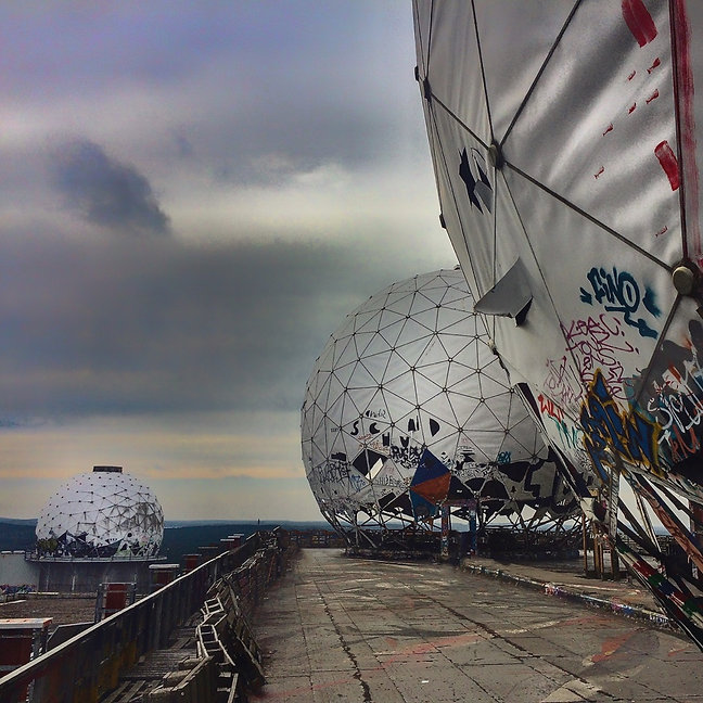 Teufelsberg, Radarstation, NSA Field Station, Lost Place, Lars Hauck