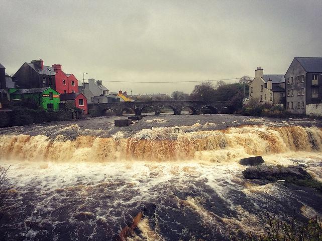 Ennistymon, Wasserfall, Irland, County Clare, Lars Hauck