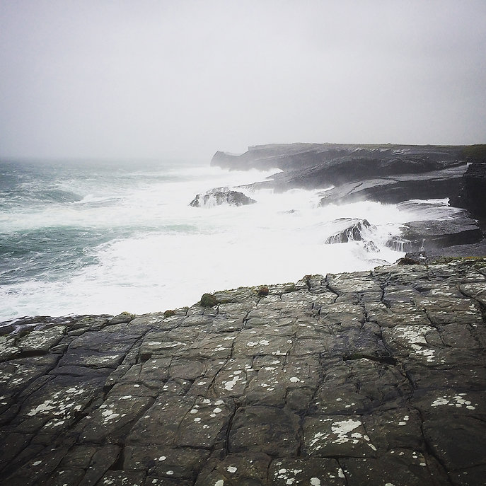 Irland Bridges of Ross Brandung Atlantik Ocean Meer