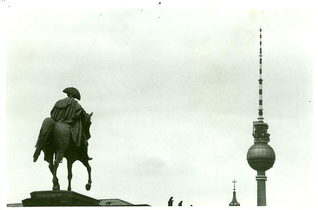 Berlin, Fernsehturm, Alex, Reiterstaue, Lars Hauck