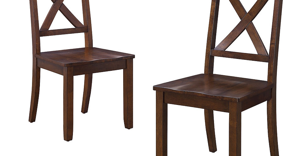 Better Homes & Gardens Set of 2 Maddox Crossing Dining Chairs Mocha