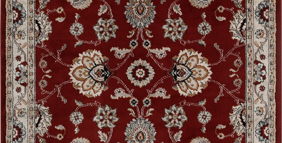 Better Homes & Gardens 5'x7' Traditional Border Persian Red Area Rug