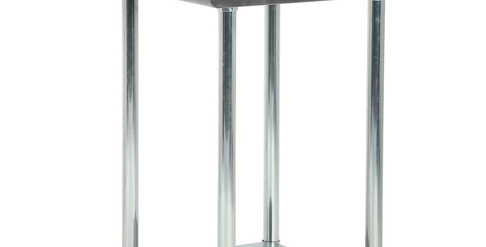 FDW Metal Kitchen Stainless Steel Work Table With Adjustable Table Foot