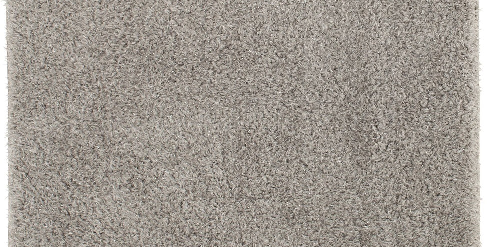 """Mainstays 36""""x56"""" Tinsel Solid Grey Sparkle Rug Gray"""