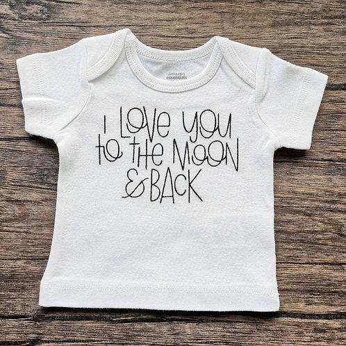 I Love You Vinyl T-Shirt