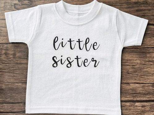 Little Sister Vinyl T-Shirt