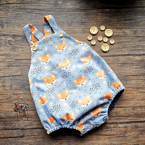 Finley Fox Bubble Romper