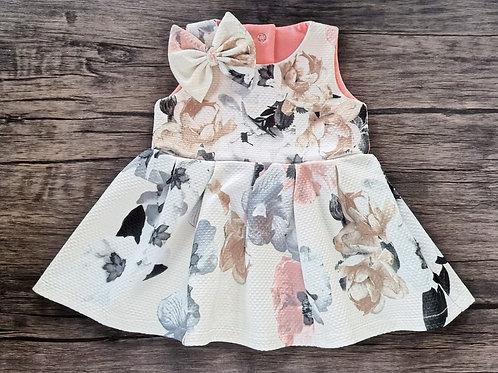 Floral Full Skirt Party Dress