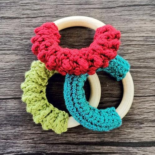 Crochet Teething Rings