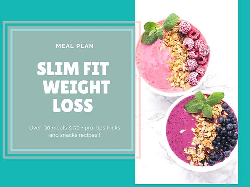 Slim Fit Weight Loss Meal Plan