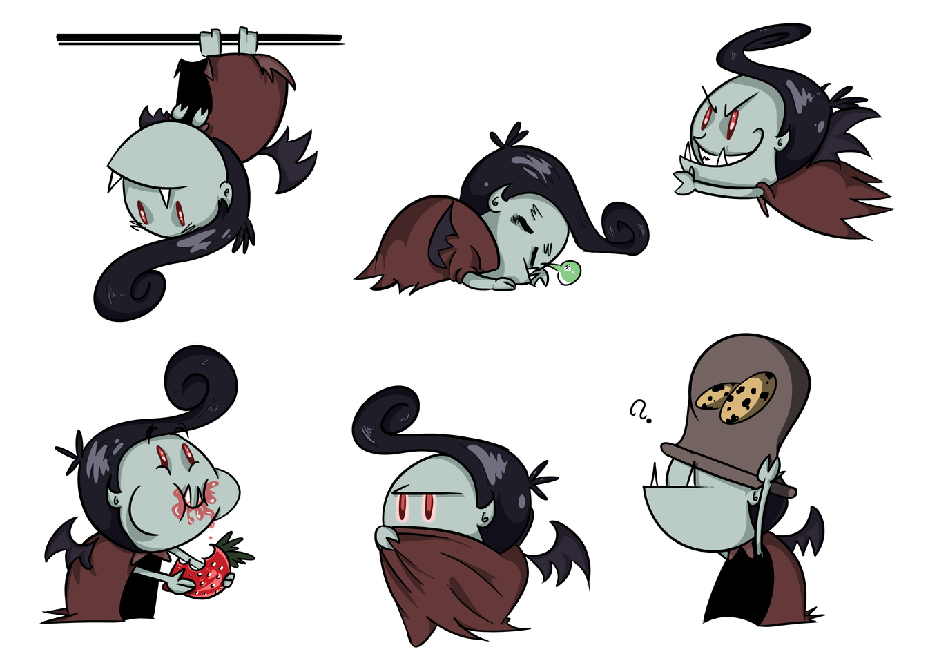 Baby Dracula Actions