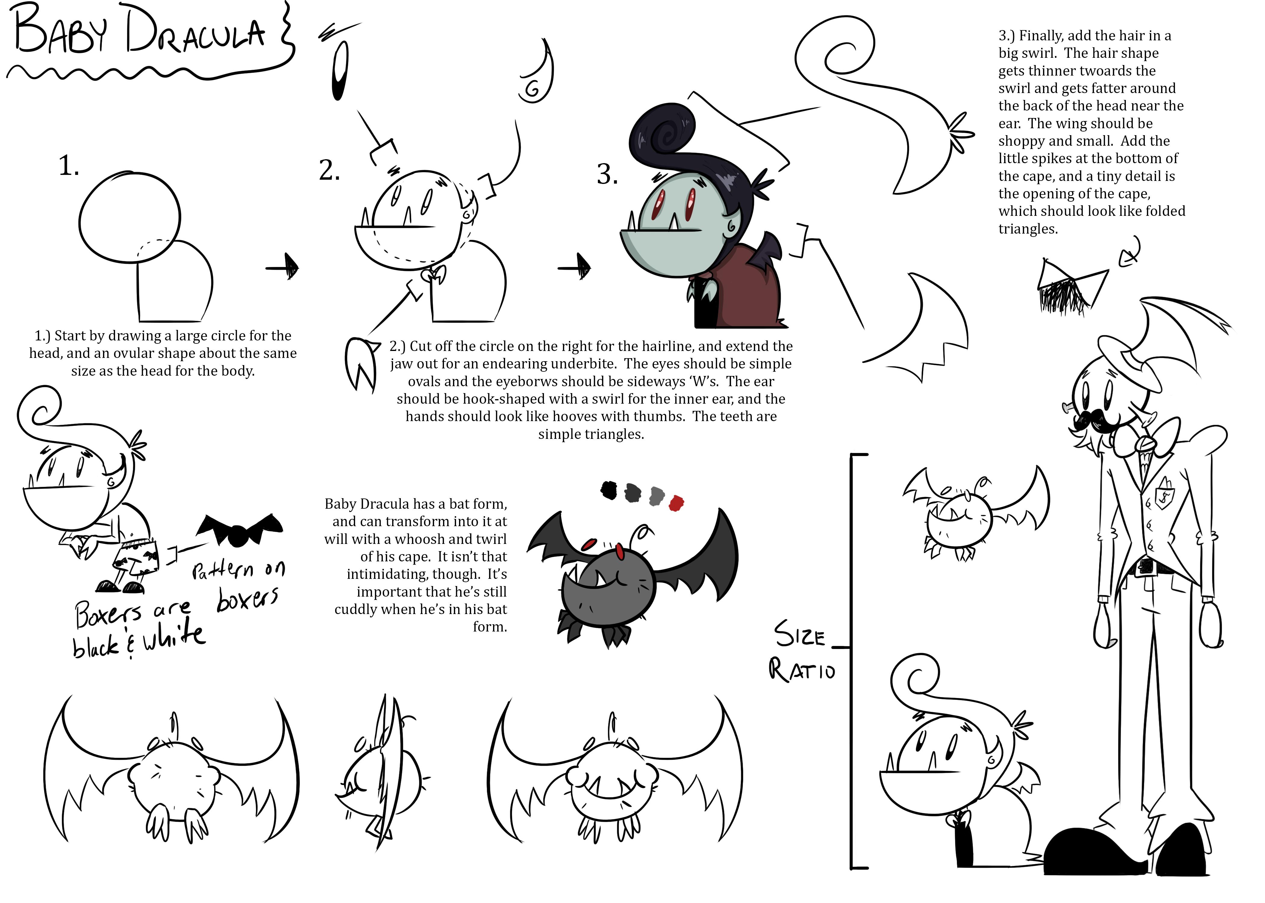 Baby Dracula Style Sheet