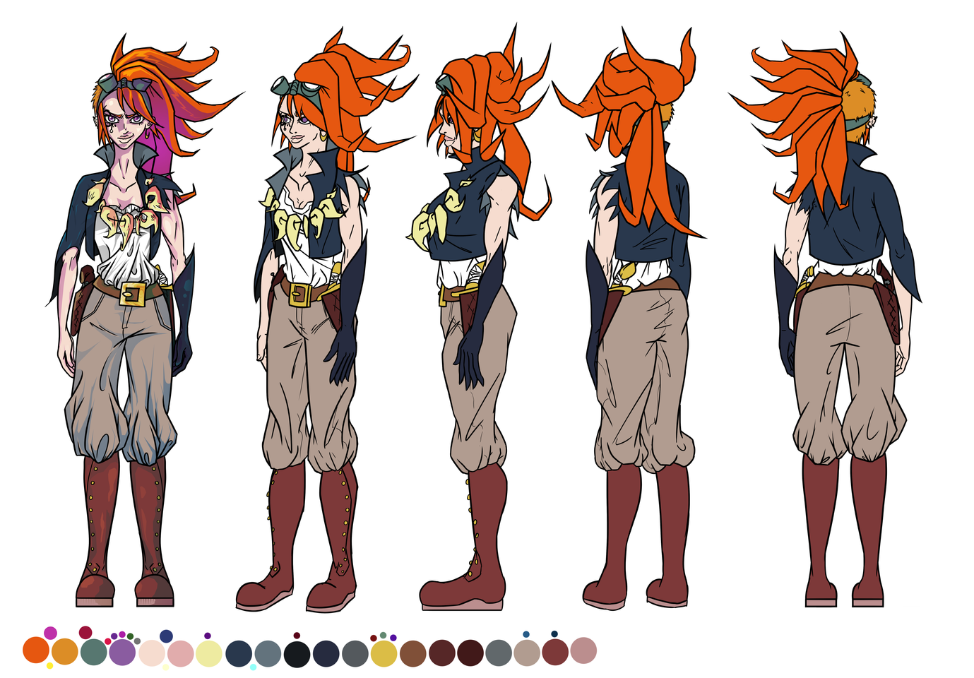 Clover the Wolf Hunter Turnaround