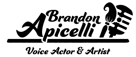Brandon Apicelli - Voice Actor & Artist Logo