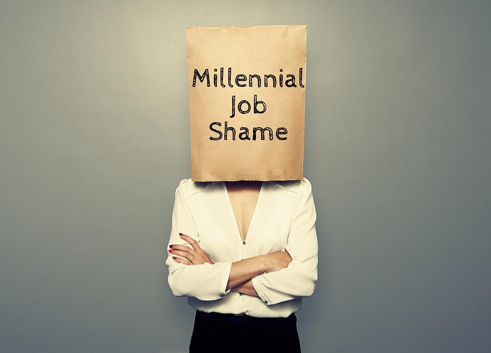 Millennial Job Shame