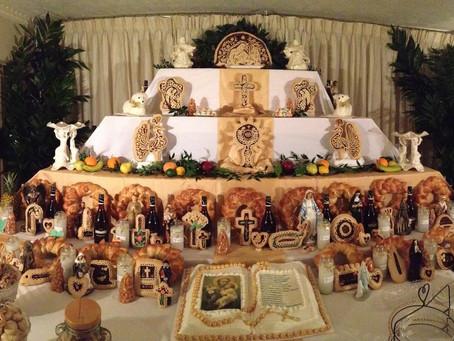 Sicilian Tradition - St. Joseph's Altar