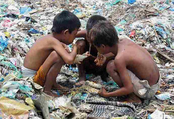 starving children in Venezuela