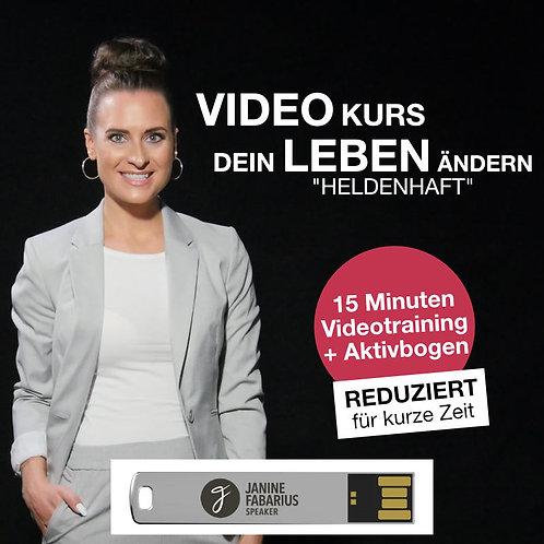 Videotraining - Dein Leben ändern (USB Stick)