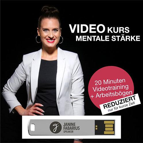 Videotraining Mentale Stärke (USB Stick)