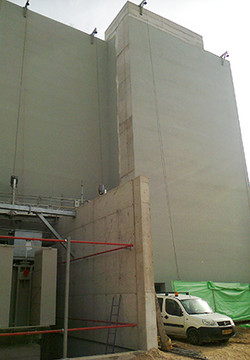 חזית תחנת הכוח באשקלון - אחרי