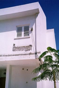 שיפוץ חזית בית פרטי באשדוד - לפני