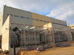 תחנת הכוח באשקלון- שלבים עבודה