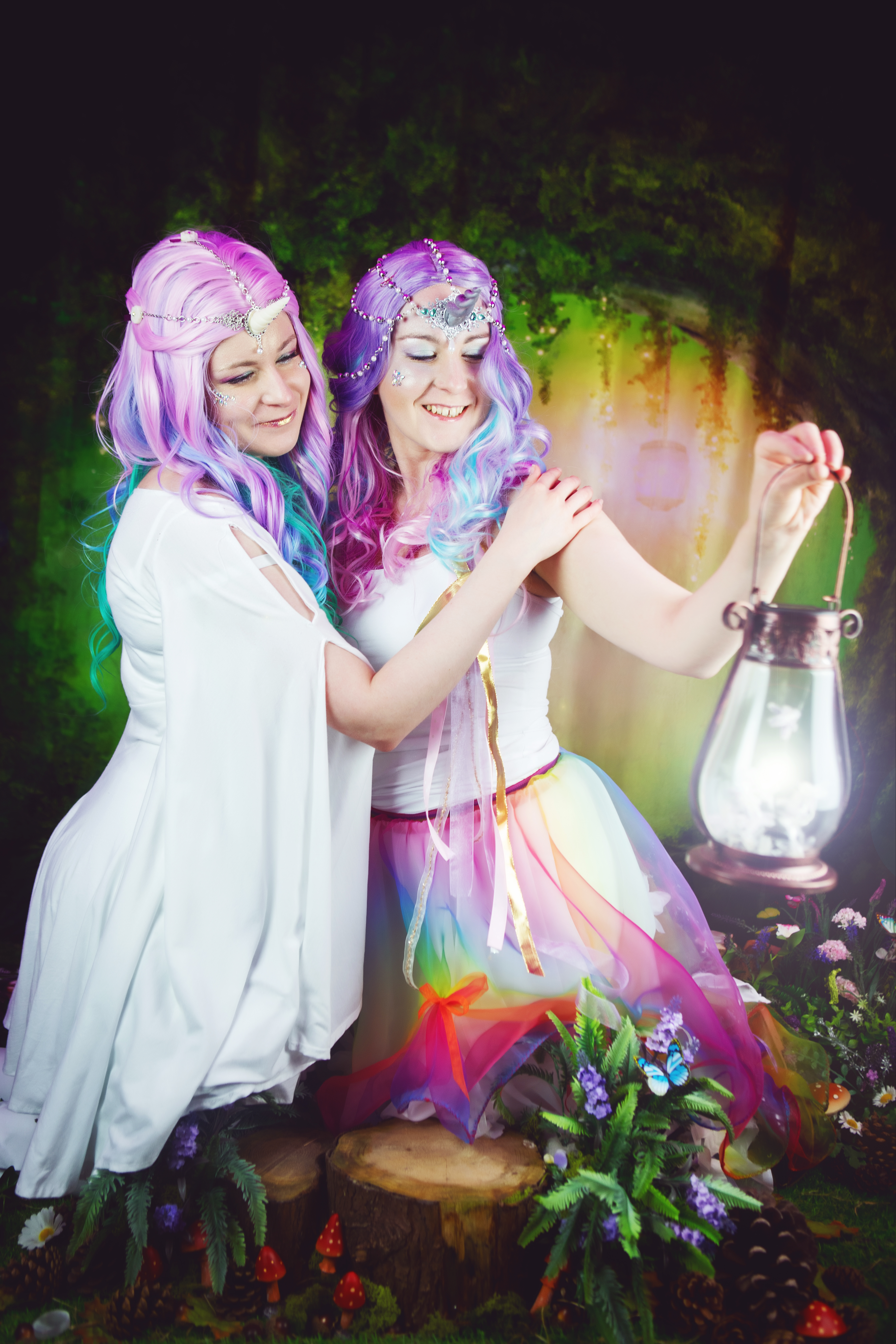 Danni & Steph @3 Wishes Fairy Festiv